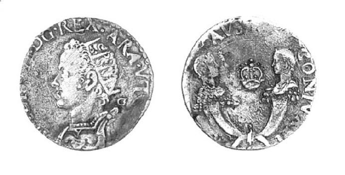 Risultati immagini per filippo III tarì due cornucopie
